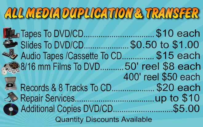 Duplication & Transfer
